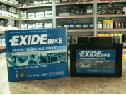 EXIDE BIKE AGM YTX4L-BS 12V 3AH 50A