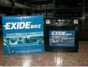 EXIDE BIKE AGM YTX5L-BS 12V 4AH 70A