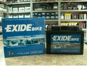 EXIDE BIKE AGM YTZ14-BS 12V 11.2AH 205A